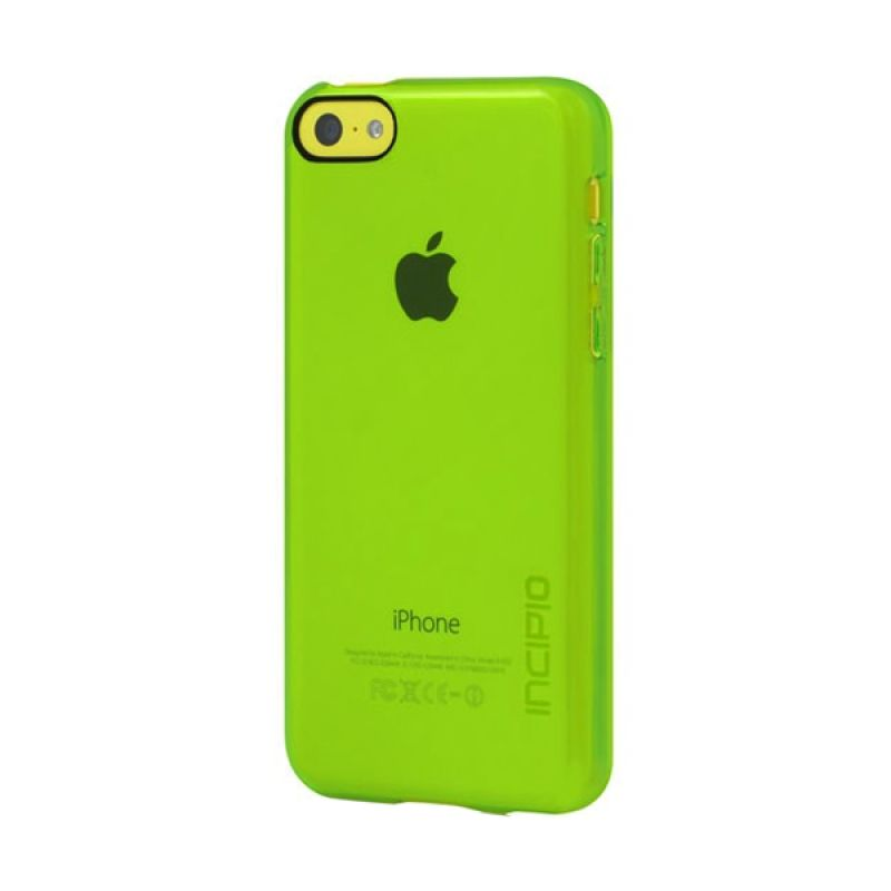 Incipio Feather Clear iPhone 5C Lime