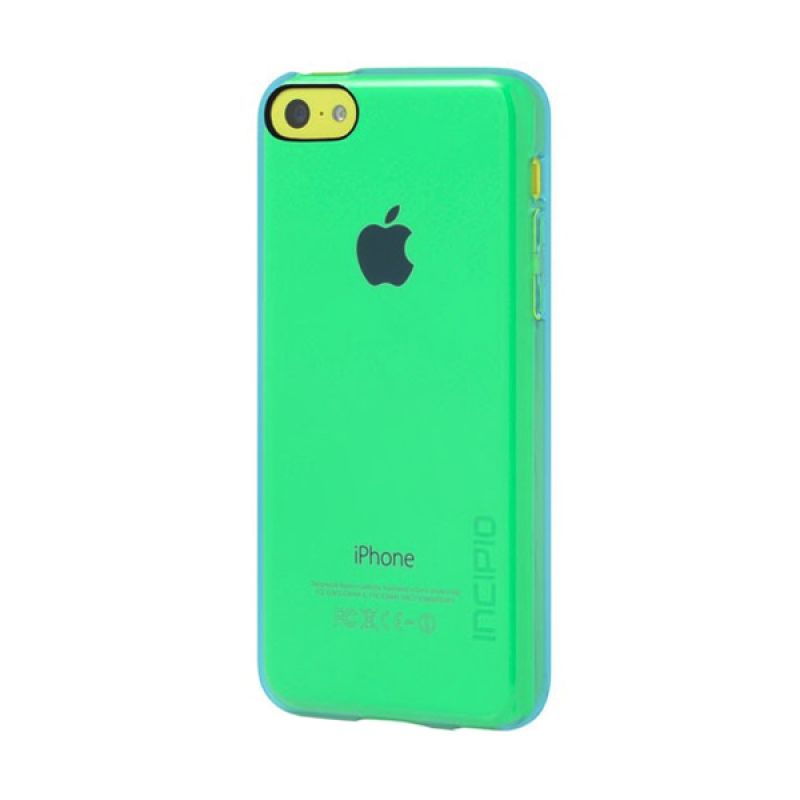 Incipio Feather Clear iPhone 5C Turquoise