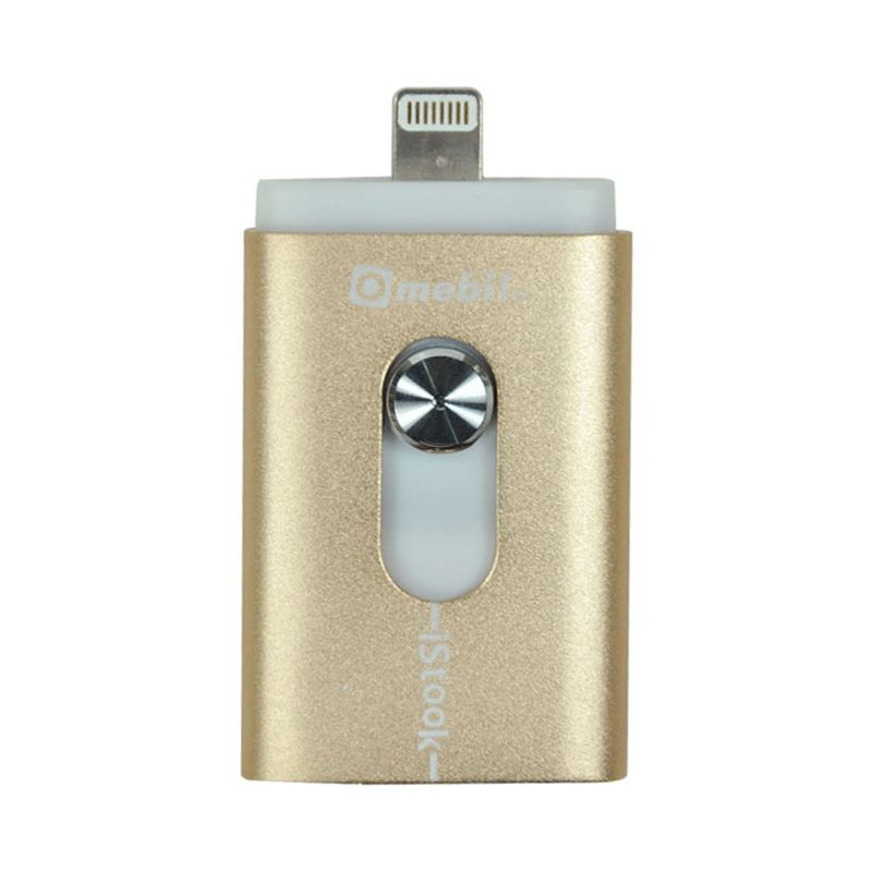 iStook Gold USB OTG with Lightning Connector [16 GB]