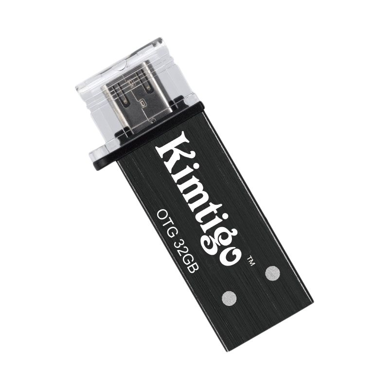 Kimtigo KTH-305 3.0 Black OTG Flash Disk [32GB]