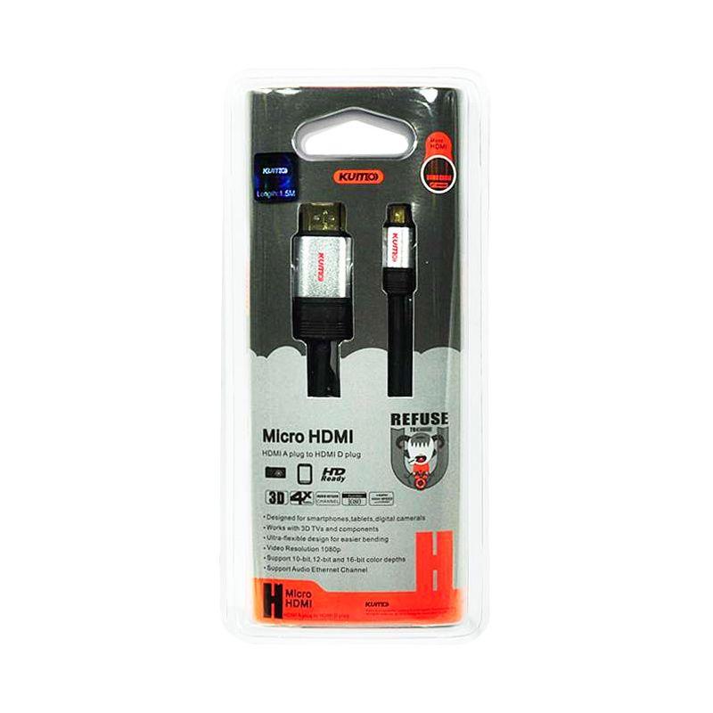 KUMO 30AWG-OD Kabel HDMI [1.5 m]