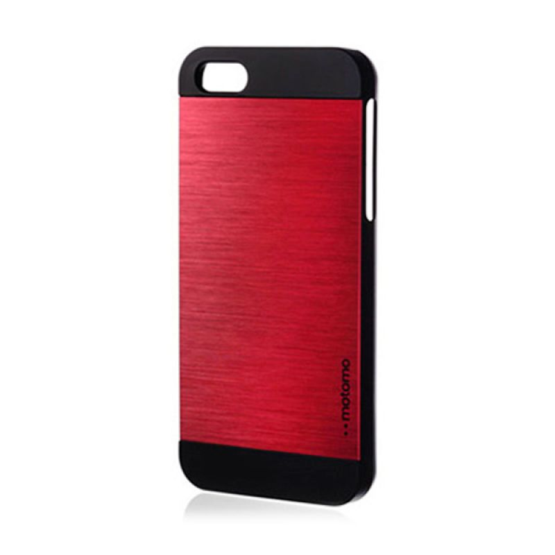Motomo Ino Metal Case for iPhone 5 5S Red Wine