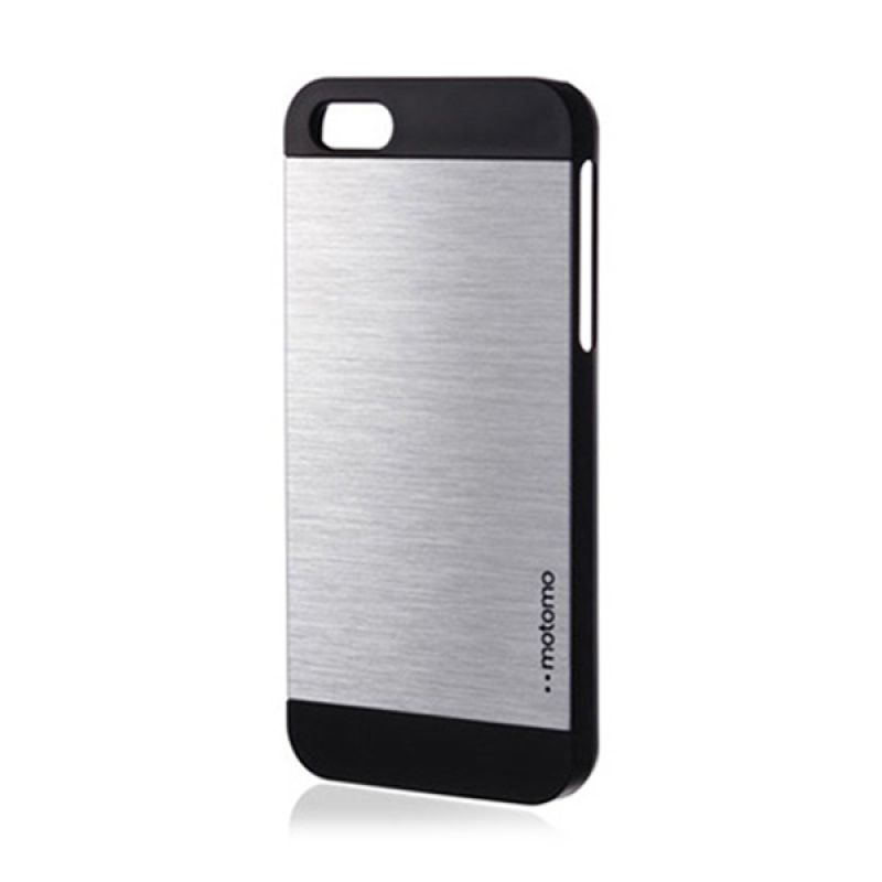 Motomo Ino Metal Case for iPhone 5 5S Silver Black