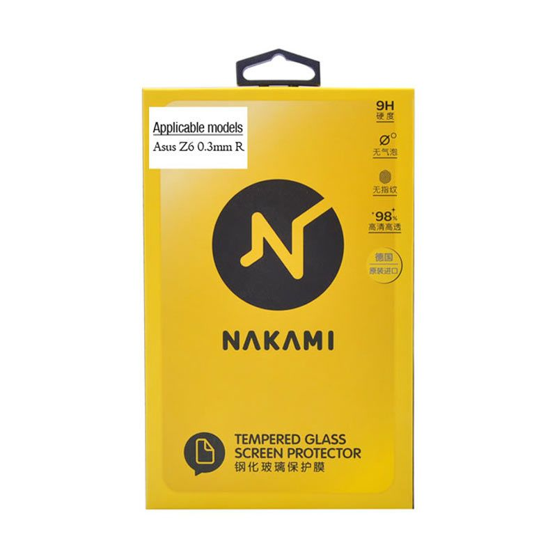 Nakami Tempered Glass 0.33mm Screen Protector for Asus Zenfone 6