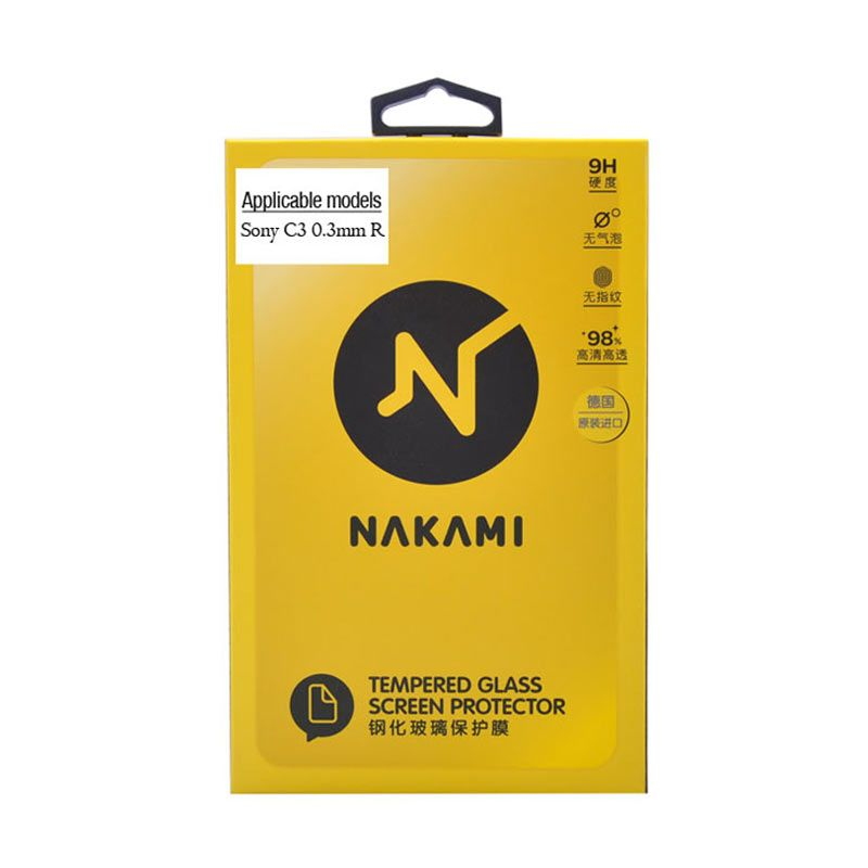 Nakami Tempered Glass 0.33mm Screen Protector for Sony Xperia C3