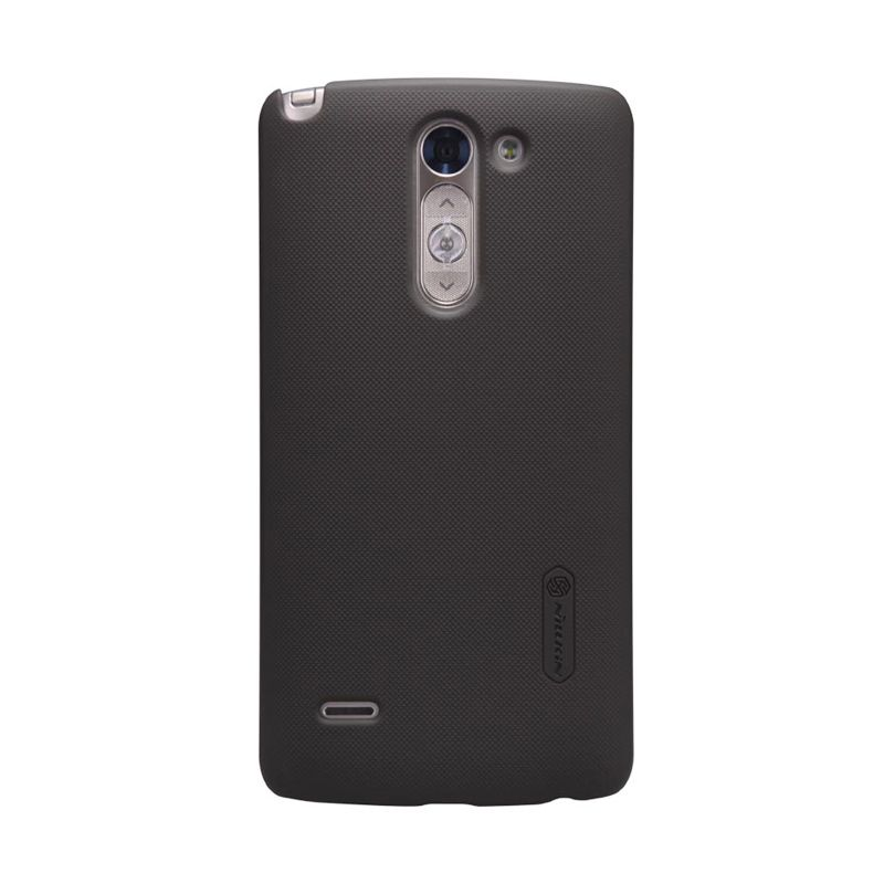 Nillkin Stylus Super Frosted Shield Brown Casing for LG G3
