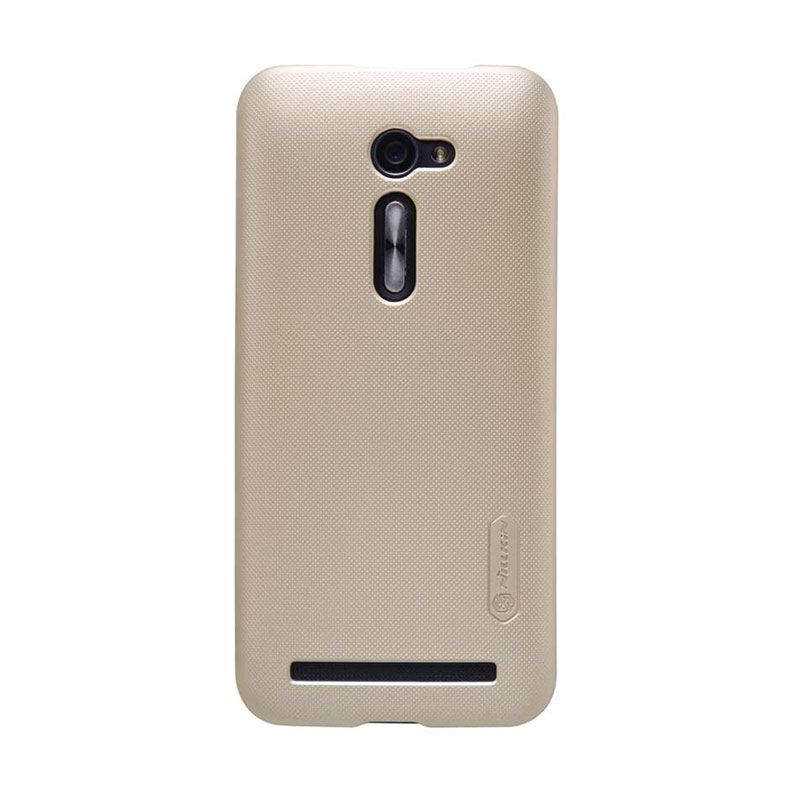 Nillkin Super Frosted Shield ZE500CL Gold Casing for Asus Zenfone 2