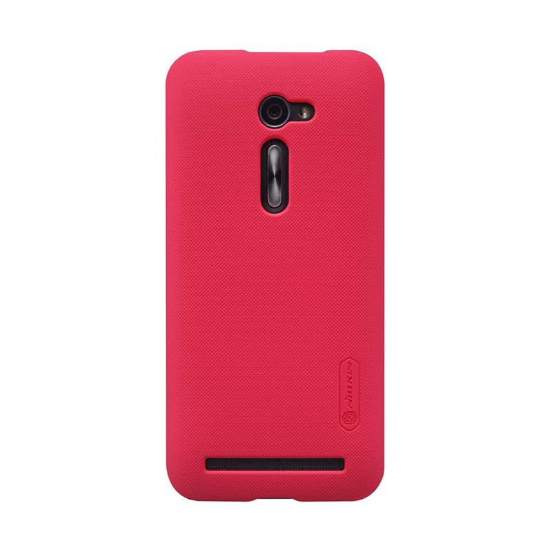 Nillkin Super Frosted Shield ZE500CL Red Casing for Asus Zenfone 2
