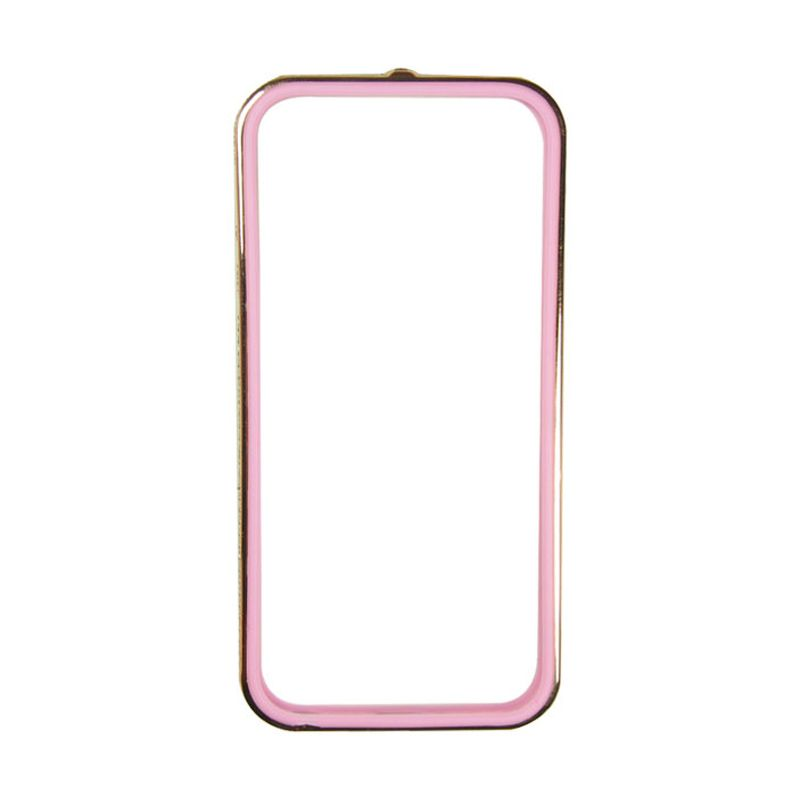 Sunyart Metal Bumper with TPU Protection for iPhone 5/5S Rose Gold Pink
