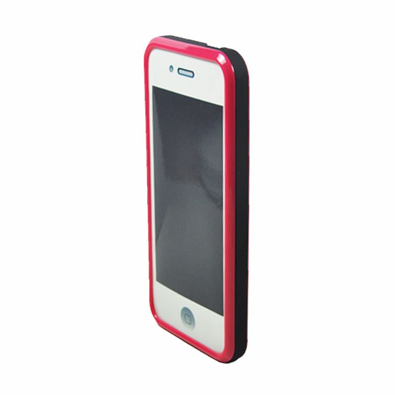 Tryit Hybrid Slim Fit Case for iPhone 5/5s Hitam Pink