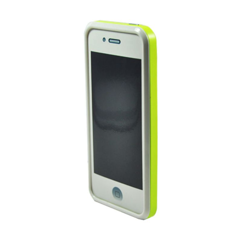Tryit Hybrid Slim Fit Case for iPhone 5/5s Lime Putih
