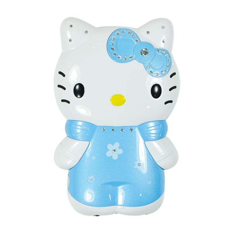 Unicorn Mobilstar Hello Kitty 3D Full Body Blue Power Bank [5200 mAh]