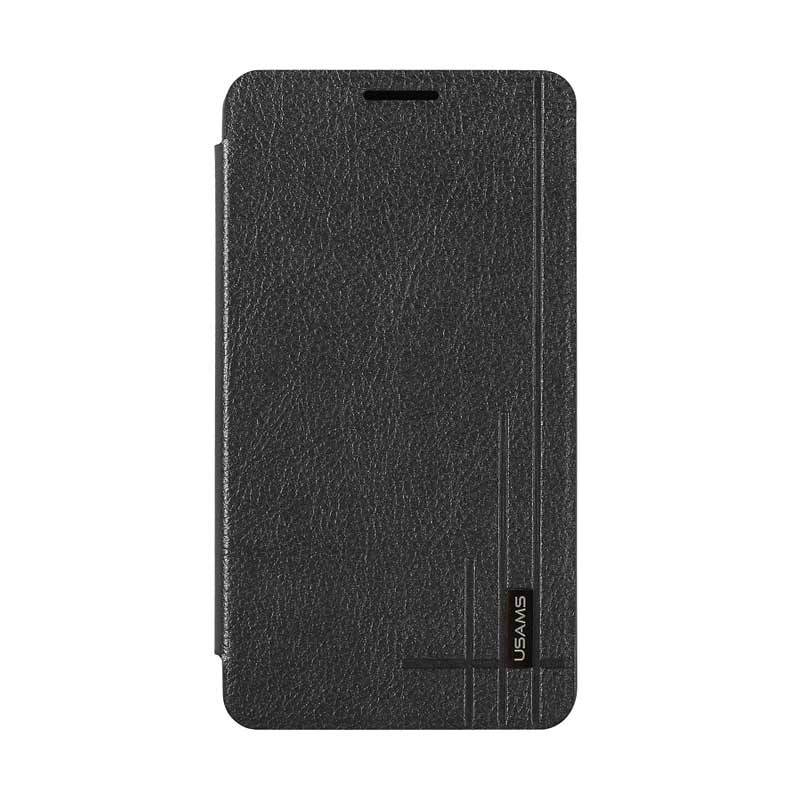 Usams Starry Sky Leather Case For Samsung Galaxy Note 3 Black