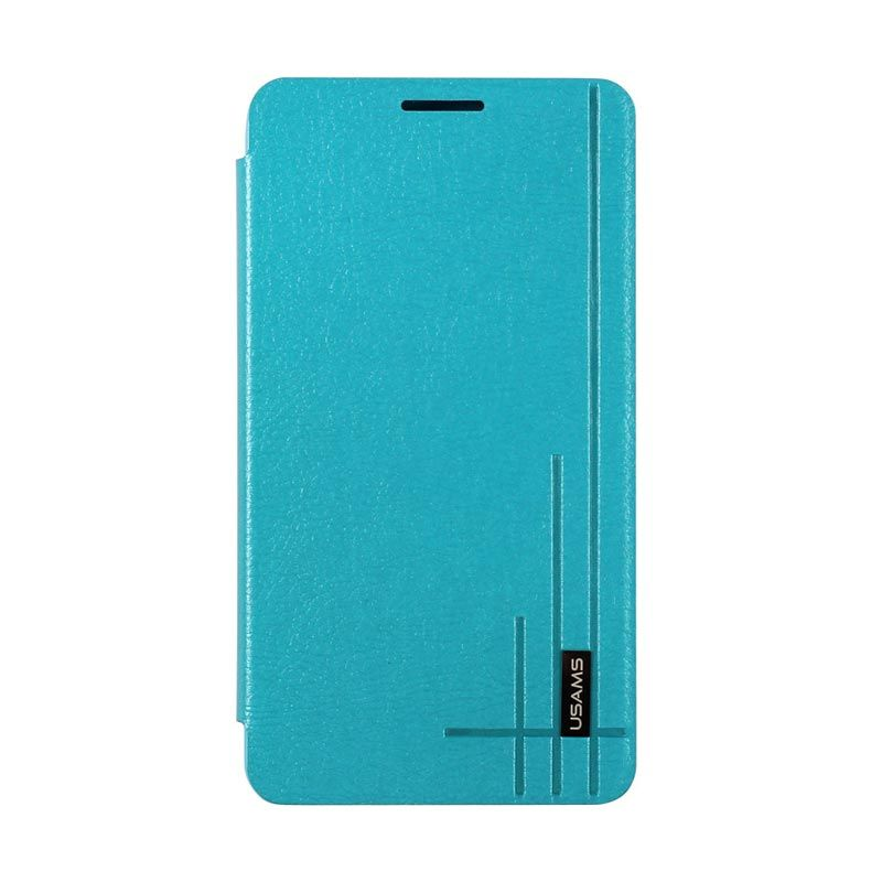 Usams Starry Sky Leather Case For Samsung Galaxy Note 3 Blue