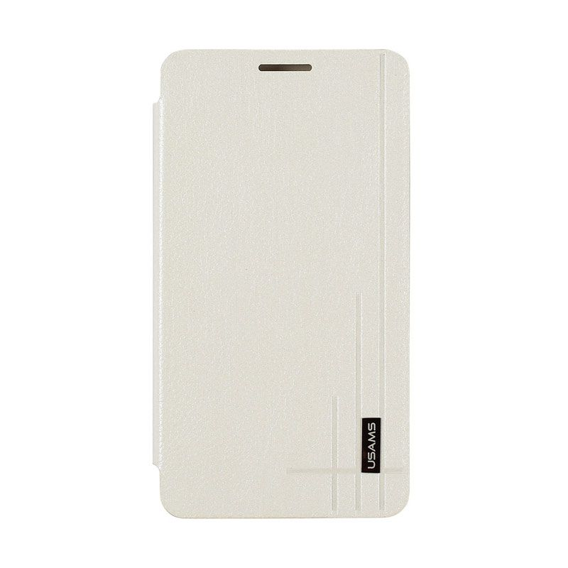 Usams Starry Sky Leather Case For Samsung Galaxy Note 3 White
