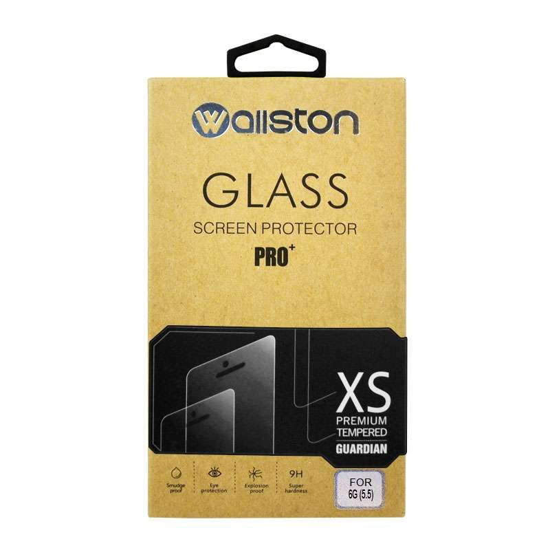 Wallston White Tempered Glass Screen Protector for iPhone 6 Plus