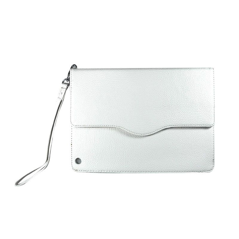 Wallston Leather Case for iPad Air White