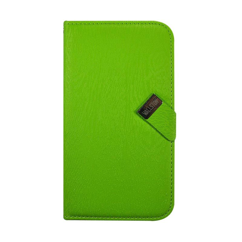 Wallston Leather Case for Samsung I9150 Galaxy Mega 5.8 Green