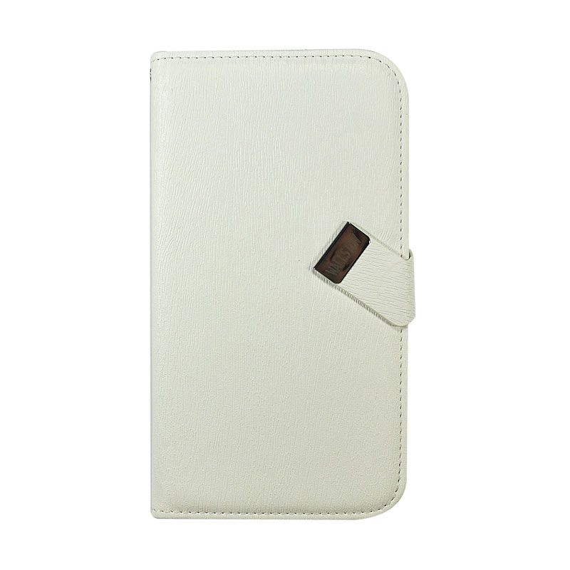 Wallston Leather Case for Samsung I9150 Galaxy Mega 5.8 White