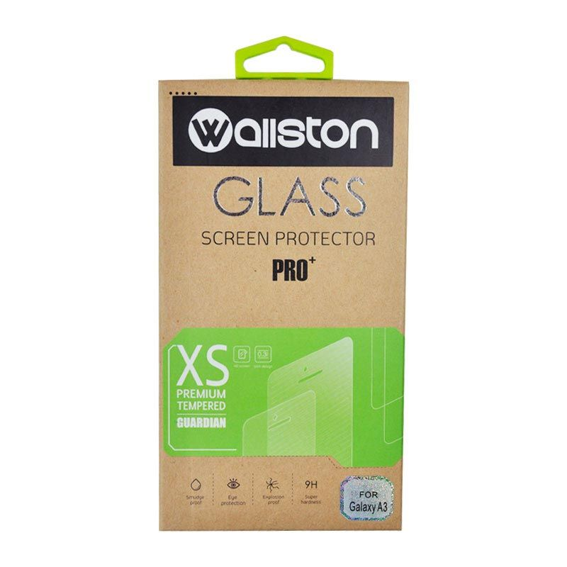 Wallston Tempered Glass Screen Protector for Galaxy A3 [0.3 mm]