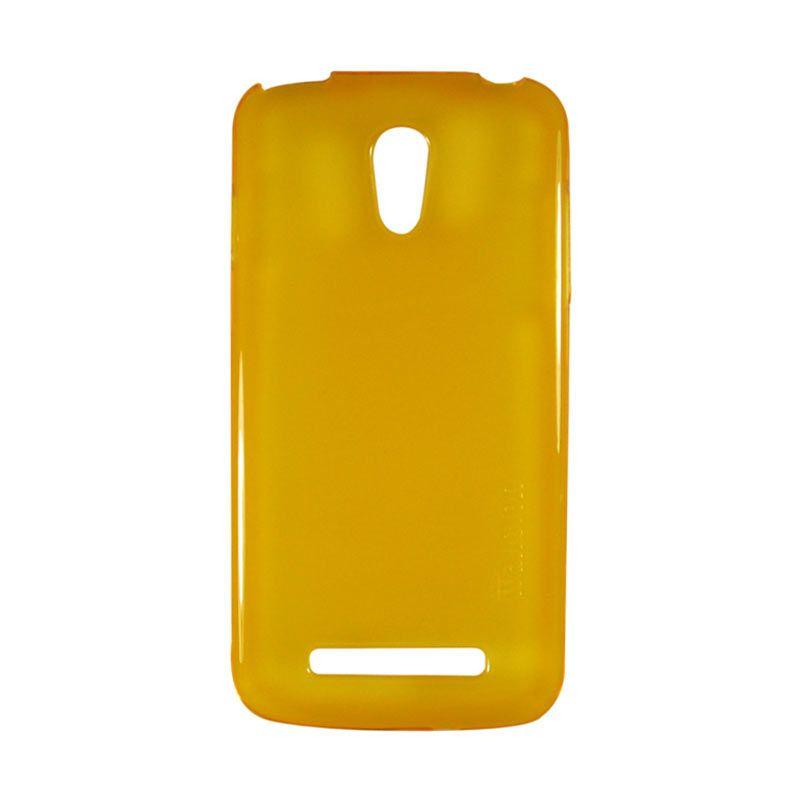 Wallston TPU Case for Smartfren Andromax T Yellow