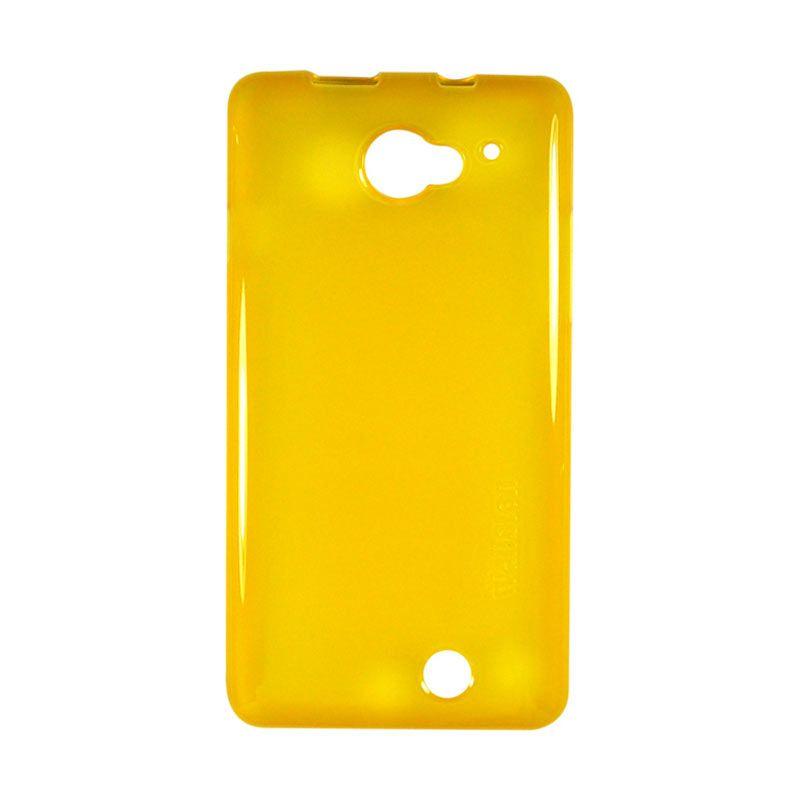 Wallston TPU Case for Smartfren Andromax U2 Orange