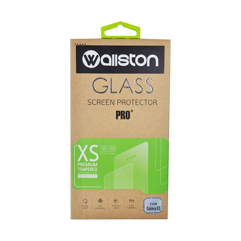 Wallston Tempered Glass Screen Protector for Galaxy E5 [0.3 mm]