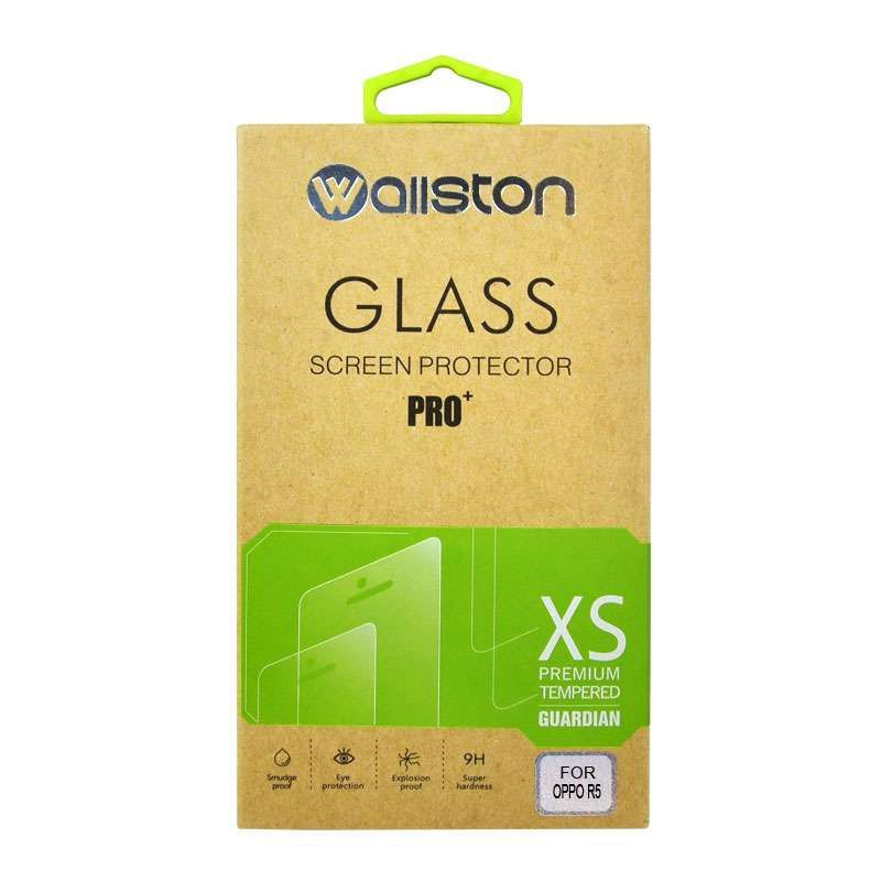 Wallston Ultrathin Tempered Glass Screen Protector for OPPO R5 [0.3 mm]