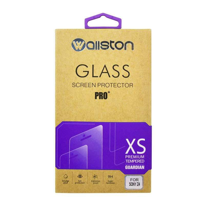 Wallston Ultrathin Tempered Glass Screen Protector for Sony Z4 [0.3 mm]