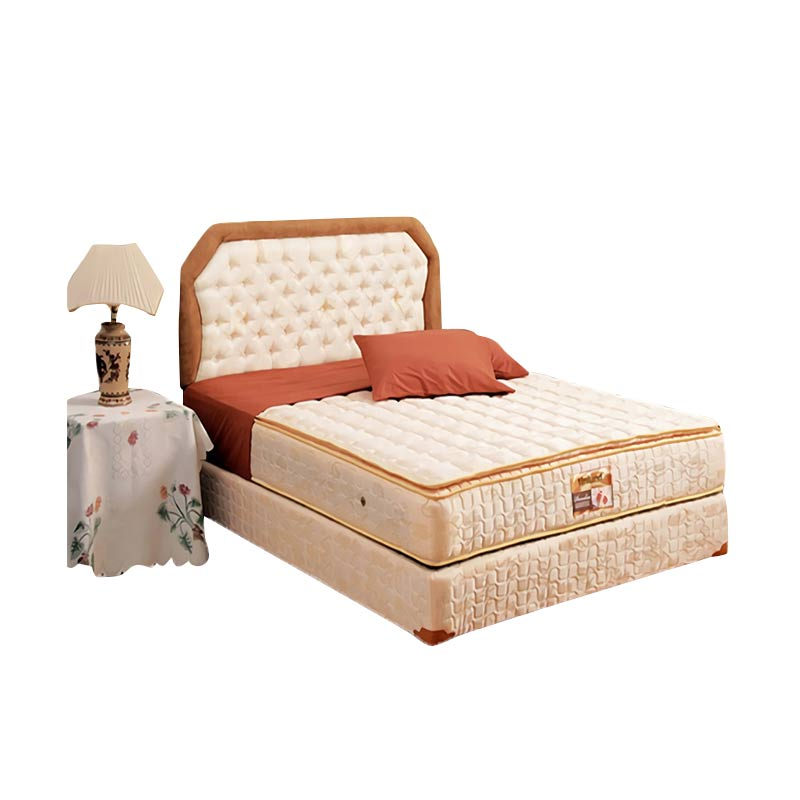 harga Uniland Kasur Springbed Paradise Single Pillowtop Bella [Full Set/180x200/Khusus Jabodetabek] Blibli.com