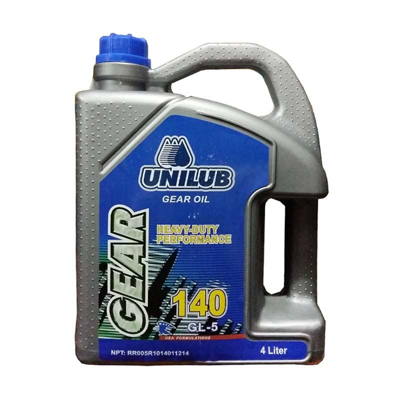 harga Unilub Gear SAE 140 [4 Liter] - Pelumas Oli Gardan Mobil & Truk Heavy Duty - Untuk Truk / Pickup / Mobil Box Muatan Berat Blibli.com