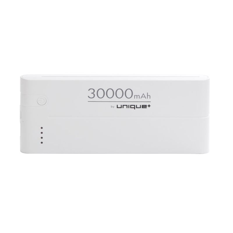 uNiQue Power Up 30000 Lazer White Powerbank