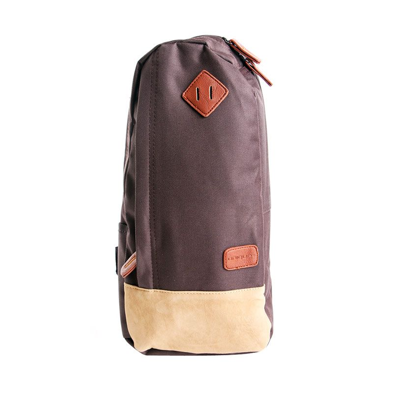 Unique Tas Cross Body Sling Sporty Challenger Coklat