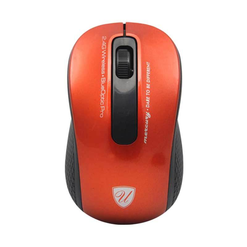 uNiQue Mercury Red Wireless Mouse