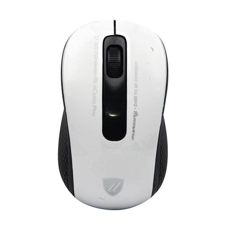 uNiQue Mercury White Wireless Mouse