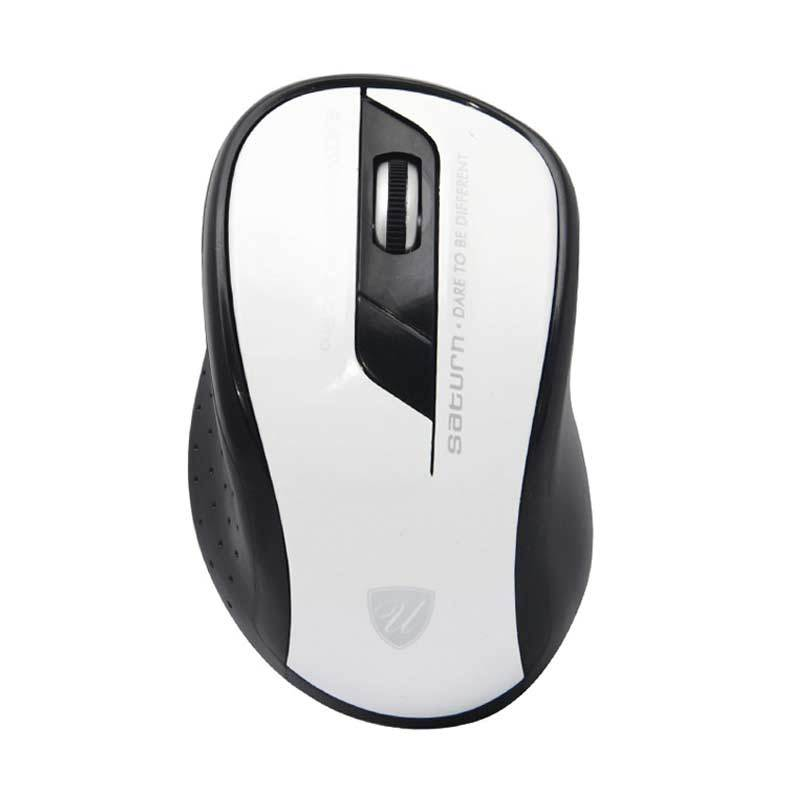 uNiQue Saturn White Wireless Mouse