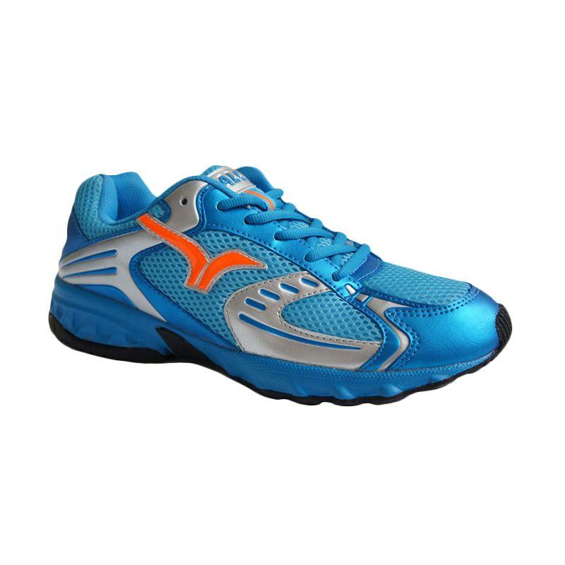 Calci Blaze Blue Sepatu Lari Pria (40) (Blue)