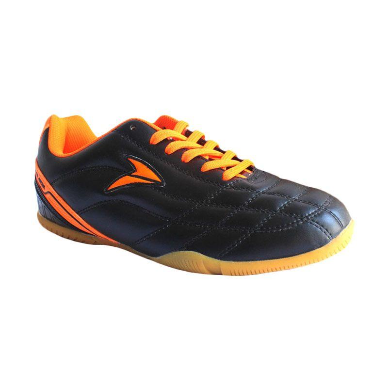 Nobleman Commando Pro Black Orange Sepatu Futsal