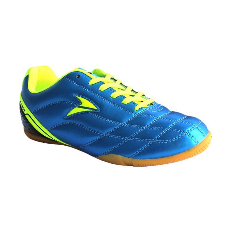 Nobleman Commando Pro Blue Neon Sepatu Futsal