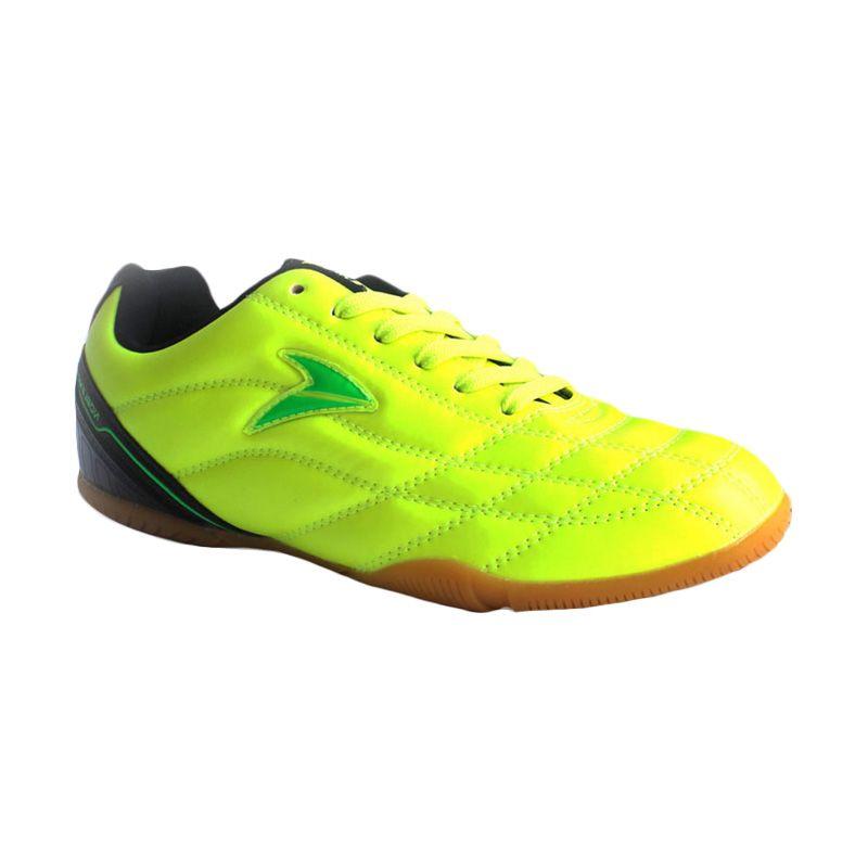Nobleman Commando Pro Fluor Green Sepatu Futsal