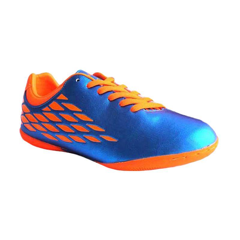 Nobleman Hazzard Blue Sepatu Futsal (Blue Orange)