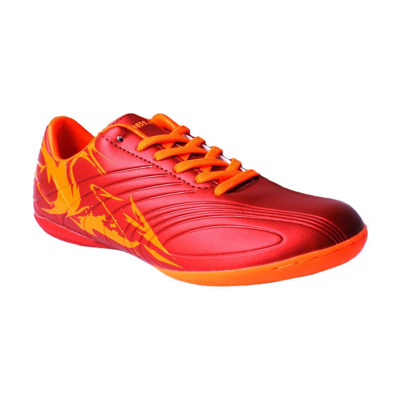 Nobleman Tormentor Red Sepatu Futsal (Red)