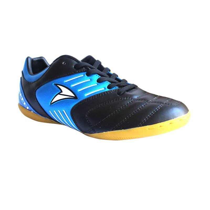 Nobleman Venom Black Blue Sepatu Futsal (Black Blue)