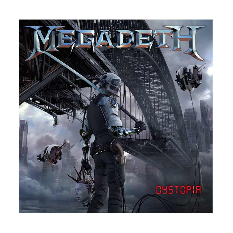Universal Music Indonesia Megadeth - Dystopia Cd Music