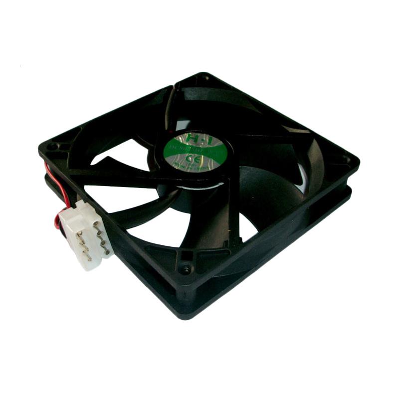 Universal Cooler Casing CPU Plus Baut - Black [12 cm]