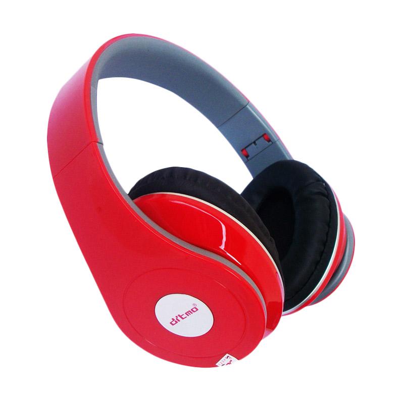 Universal Ditmo DM-2600 Headset - Merah [Support Handsfree]