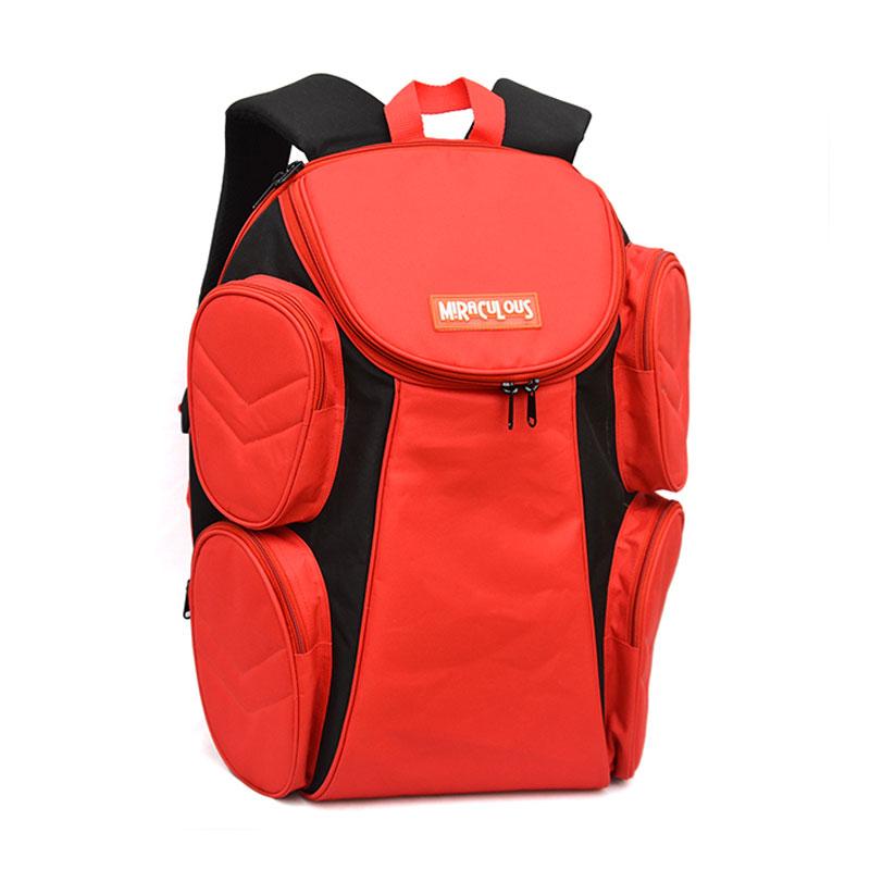 Universal Miraculous Multifungsi Merah Tas Badminton [Laptop In]