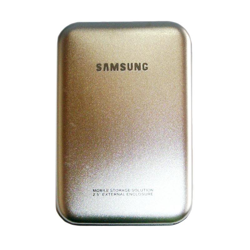 Universal Model Samsung F2 External Case - Silver [2.5 Inch/SATA/USB 2.0]