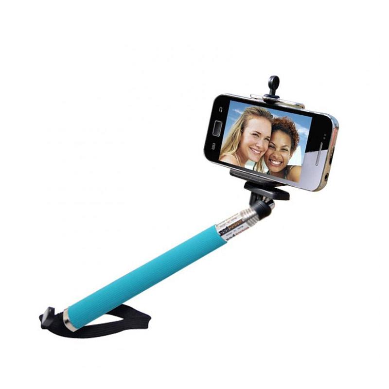 Universal Model U Monopod for Kamera - Biru