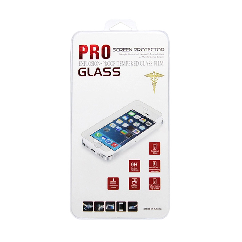 Universal Tempered Glass Skin Protector 9H for iPhone 4
